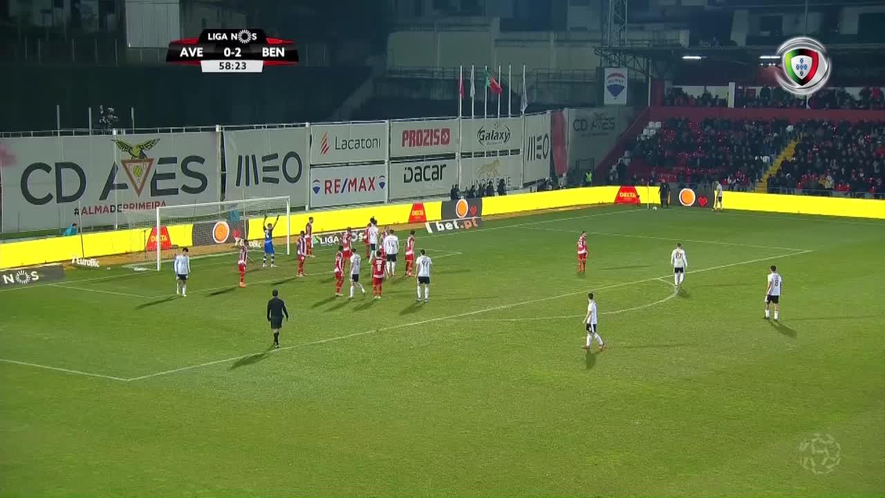 GOLO! SL Benfica, Ferro aos 59', CD Aves 0-3 SL Benfica