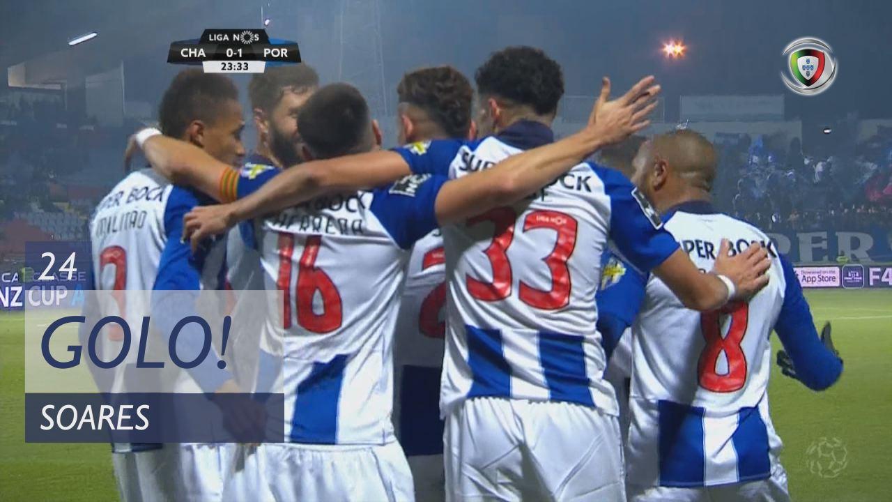 GOLO! FC Porto, Soares aos 24', GD Chaves 0-1 FC Porto