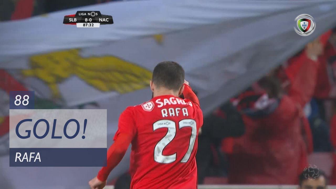 GOLO! SL Benfica, Rafa aos 88', SL Benfica 9-0 CD Nacional
