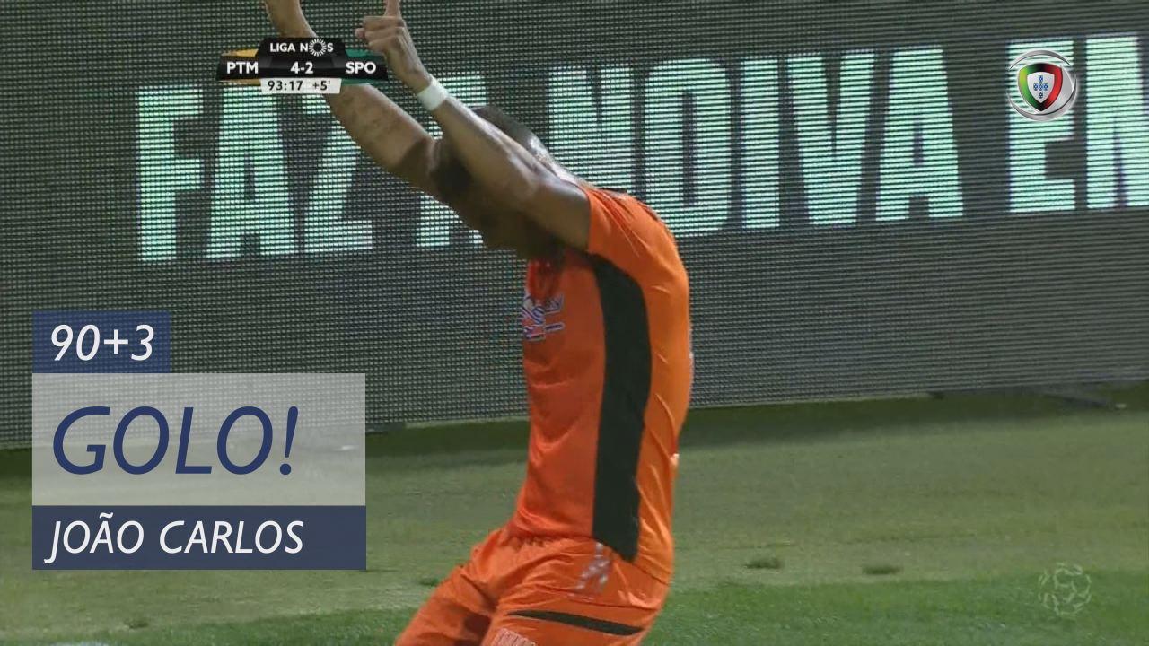 GOLO! Portimonense, João Carlos aos 90'+3', Portimonense 4-2 Sporting CP