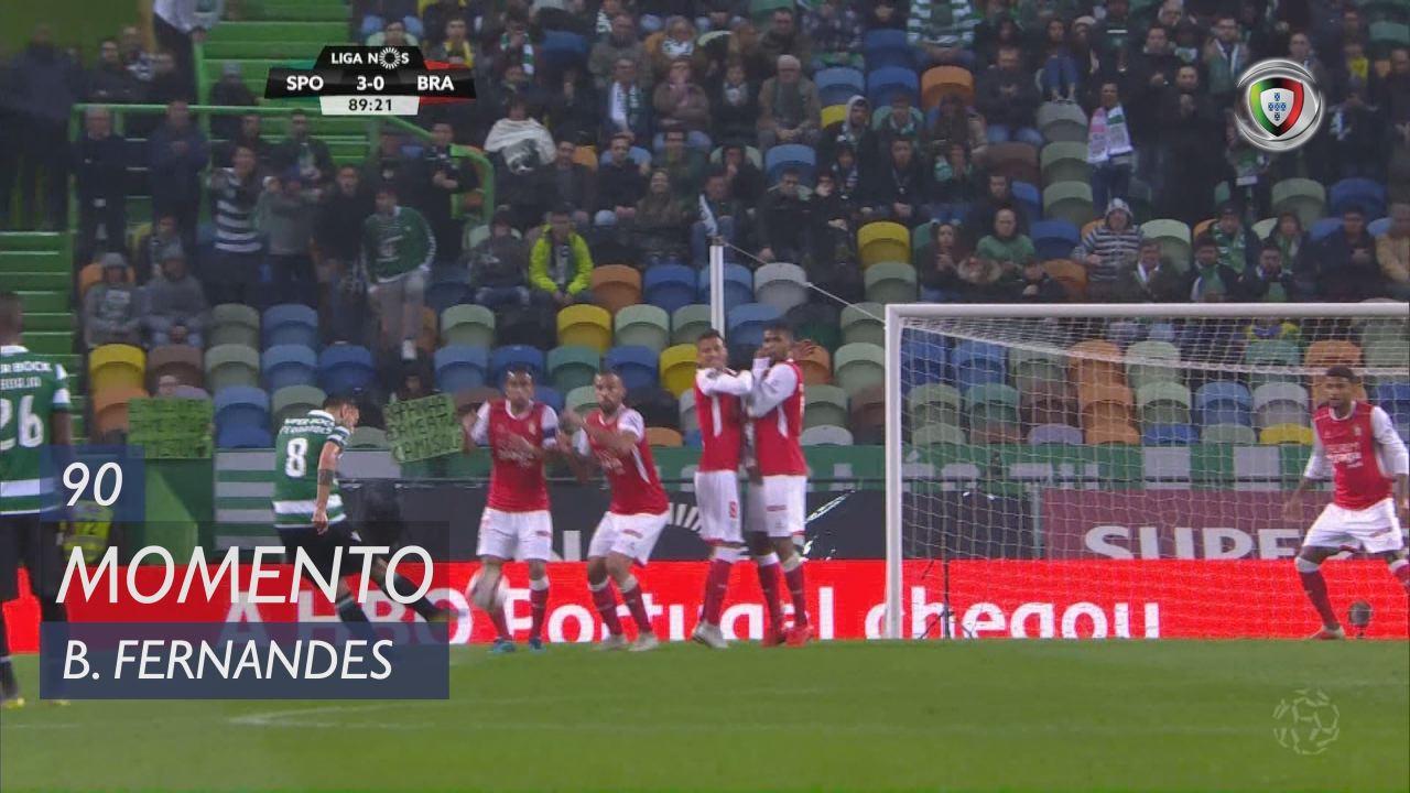 Sporting CP, Jogada, Bruno Fernandes aos 90'
