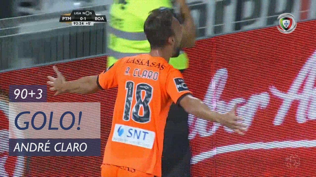 GOLO! Boavista FC, André Claro aos 90'+3', Portimonense 0-2 Boavista FC