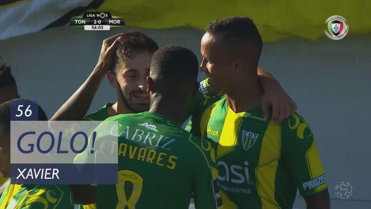 GOLO! CD Tondela, Xavier aos 56', CD Tondela 2-0 Moreirense FC