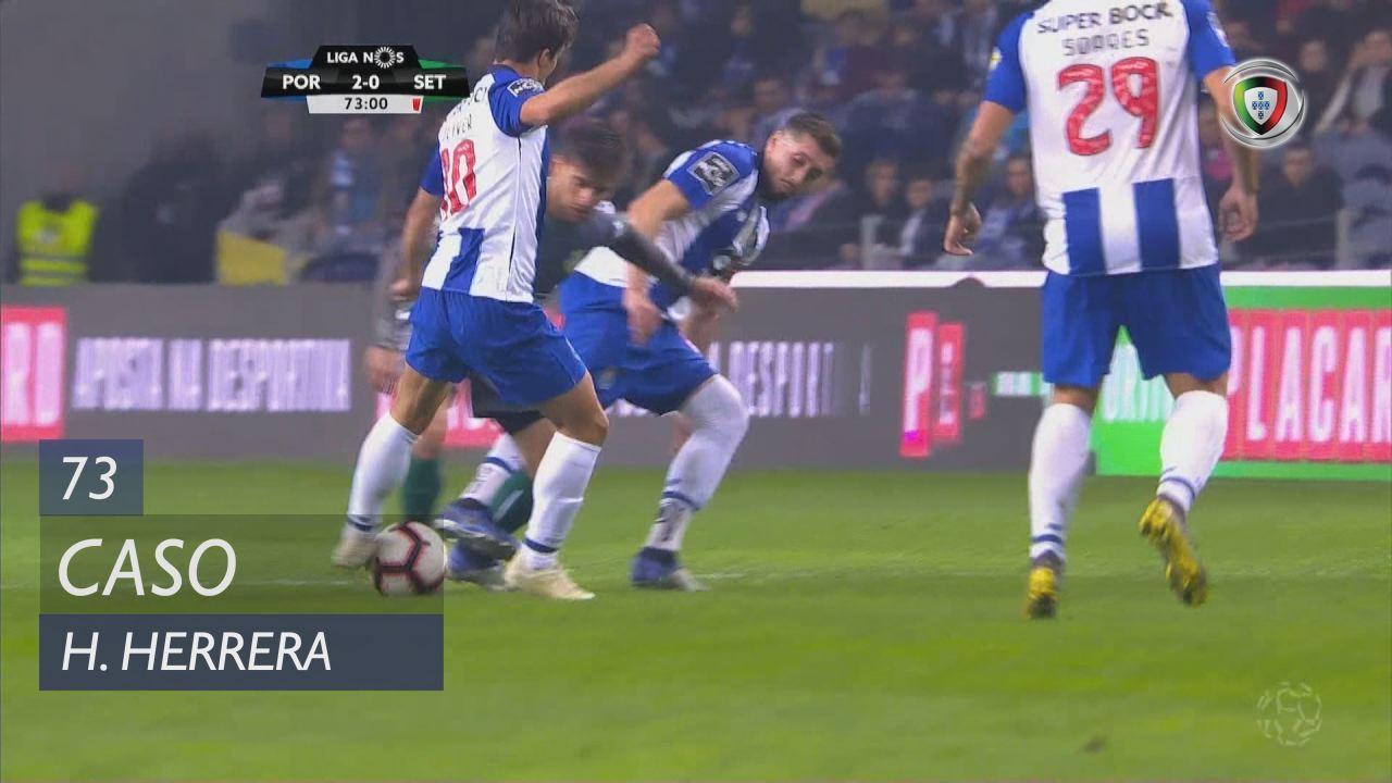 FC Porto, Caso, H. Herrera aos 73'