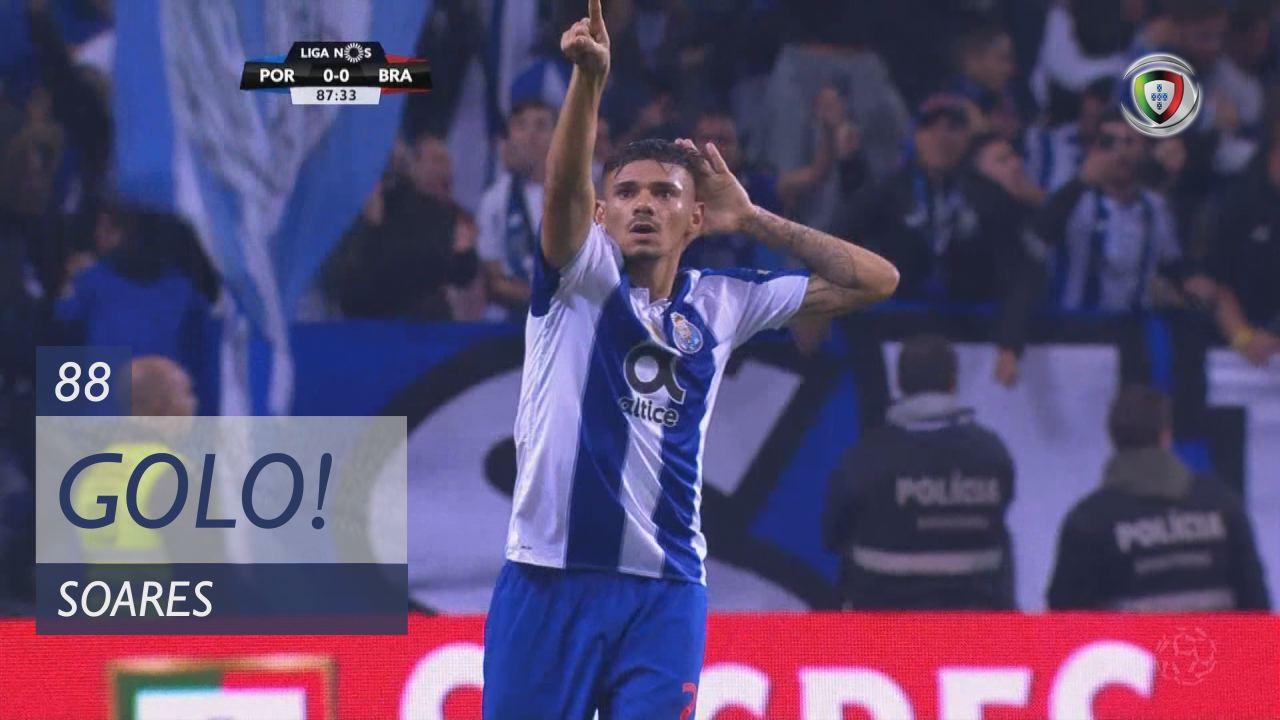 GOLO! FC Porto, Soares aos 88', FC Porto 1-0 SC Braga