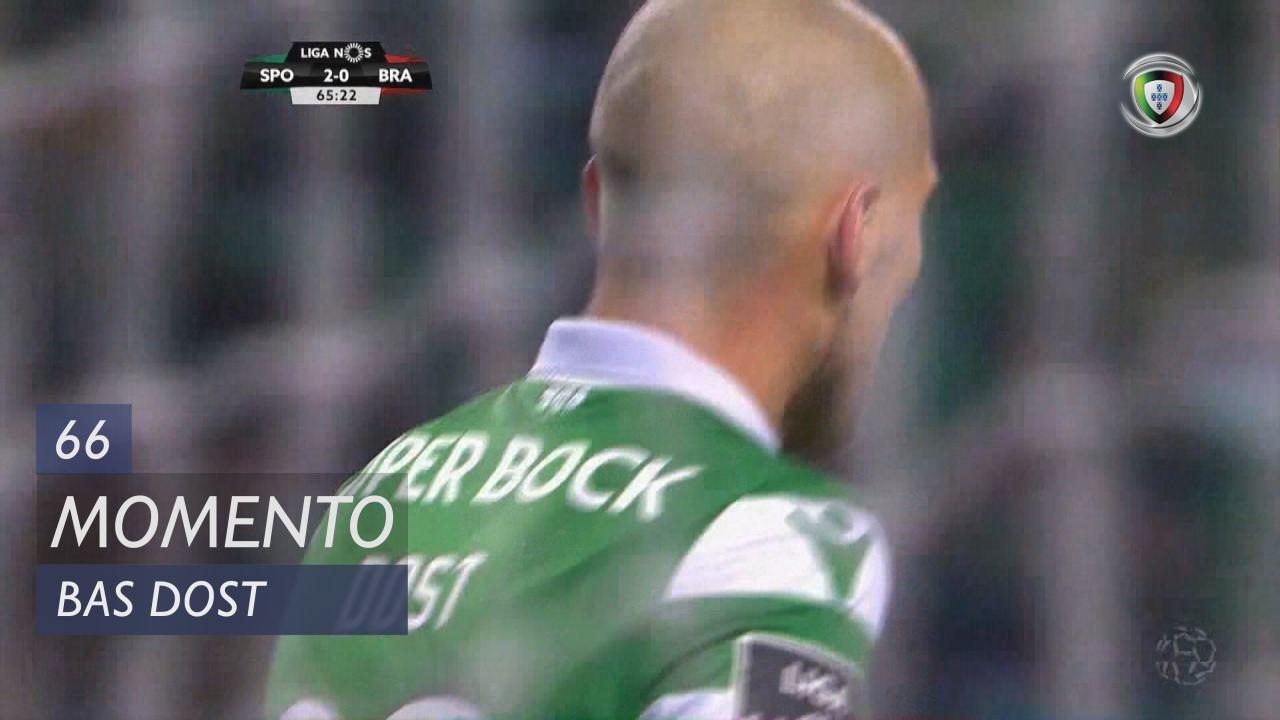 Sporting CP, Jogada, Bas Dost aos 66'