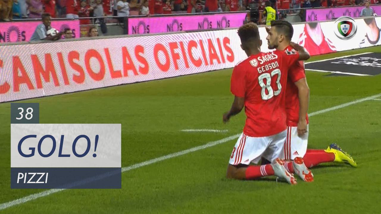GOLO! SL Benfica, Pizzi aos 38', SL Benfica 3-0 Vitória SC