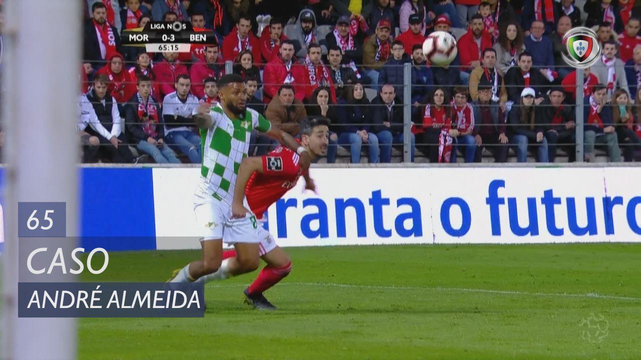 SL Benfica, Caso, André Almeida aos 65'