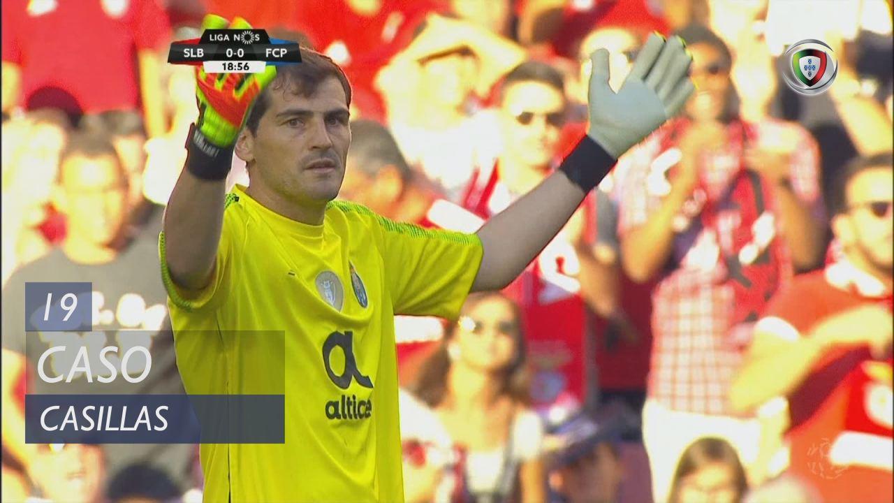 FC Porto, Caso, Casillas aos 19'