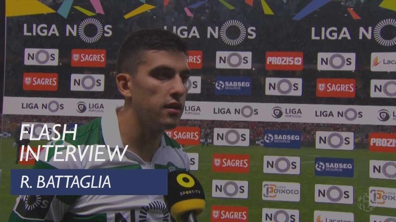 Liga (5ª): Flash interview Rodrigo Battaglia