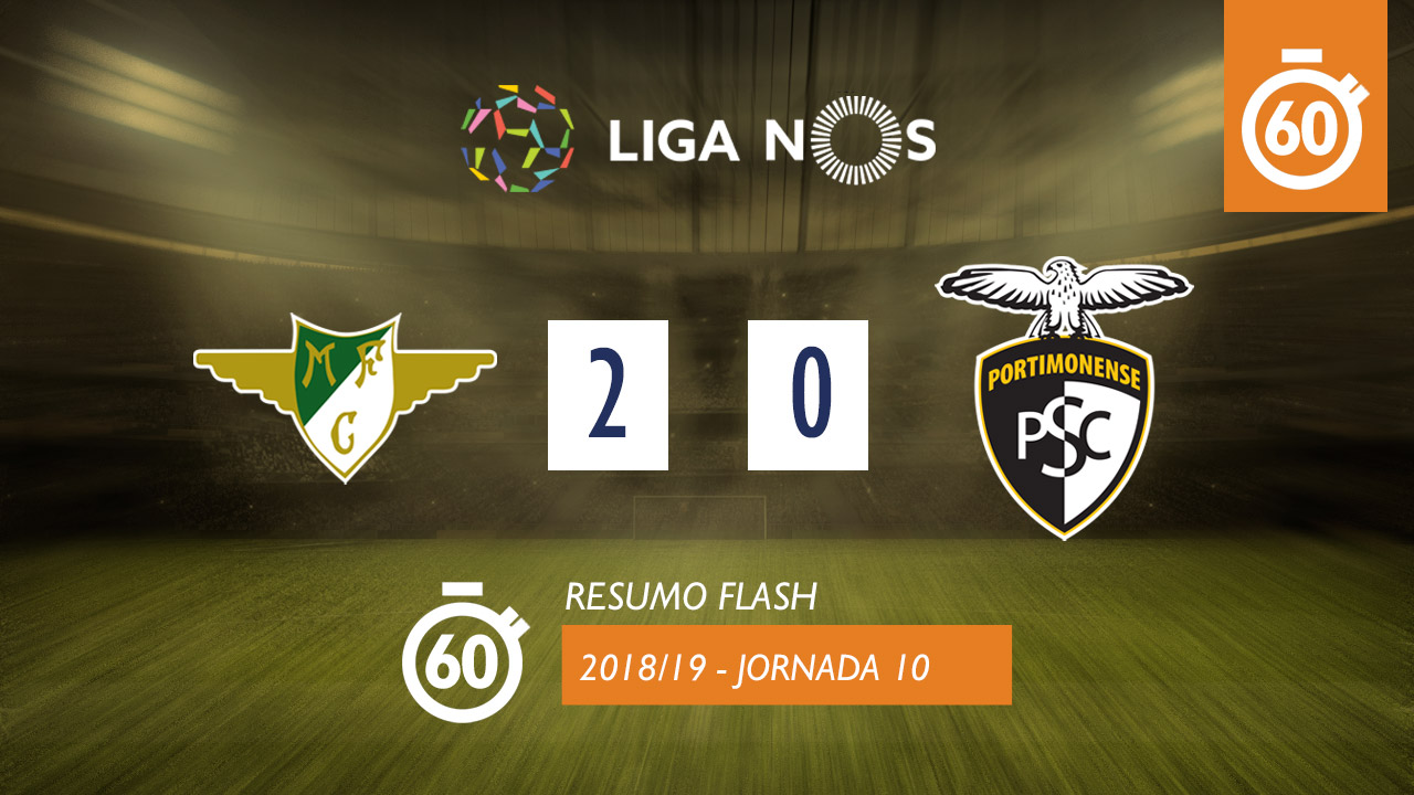 I Liga (10ªJ): Resumo Flash Moreirense FC 2-0 Portimonense