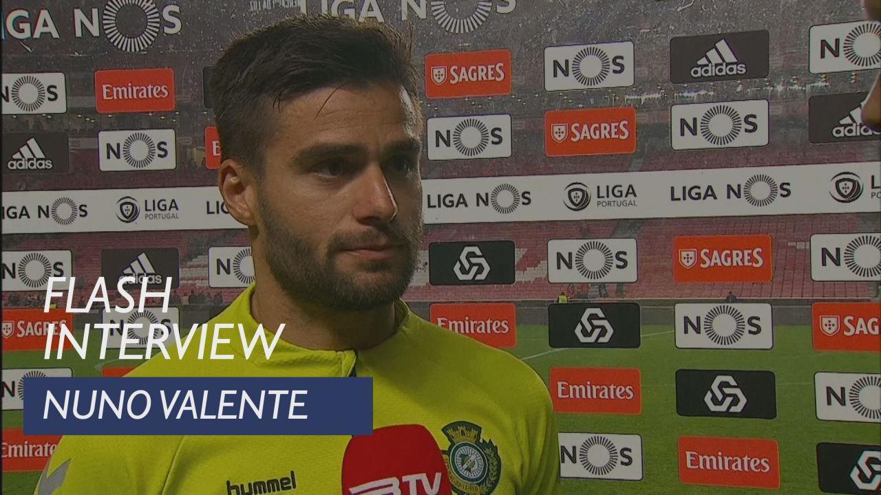 Liga (29ª): Flash Interview Nuno Valente