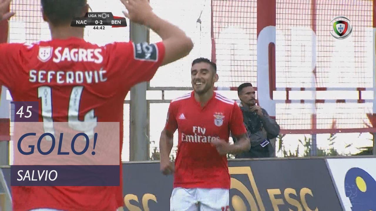 GOLO! SL Benfica, Salvio aos 45', CD Nacional 0-2 SL Benfica
