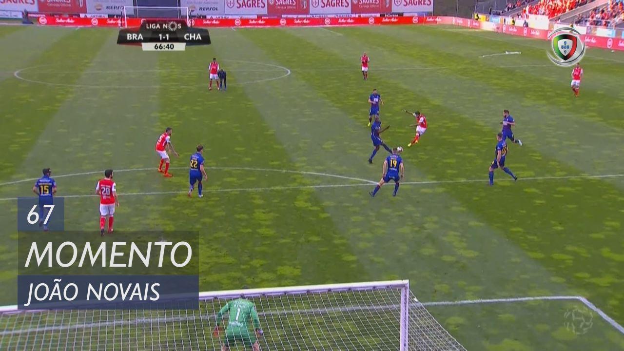 Braga Chaves: SC Braga, Jogada, João Novais, 67m