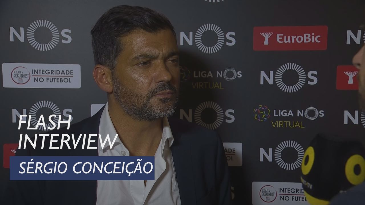 Liga (4ª): Flash interview Sérgio Conceição