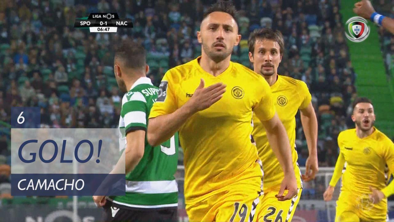 GOLO! CD Nacional, Camacho aos 6', Sporting CP 0-1 CD Nacional