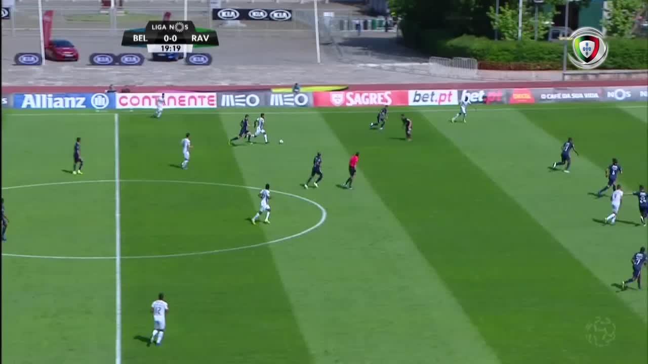 GOLO! Rio Ave FC, Bruno Moreira aos 20', Os Belenenses 0-1 Rio Ave FC