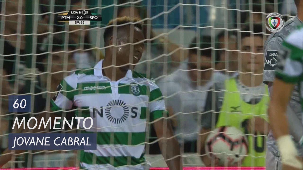 Sporting CP, Jogada, Jovane Cabral aos 60'