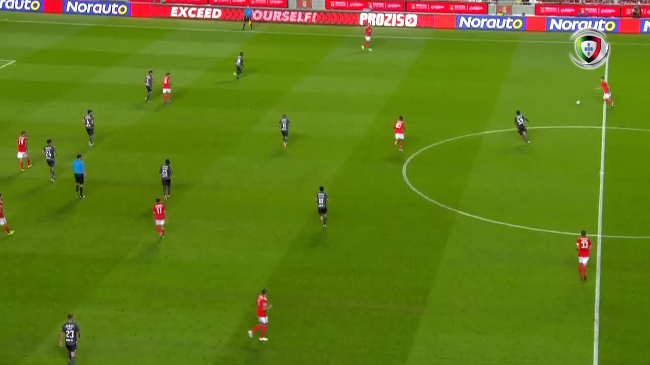 SL Benfica, Resumo, Pizzi, 30m, 2-0