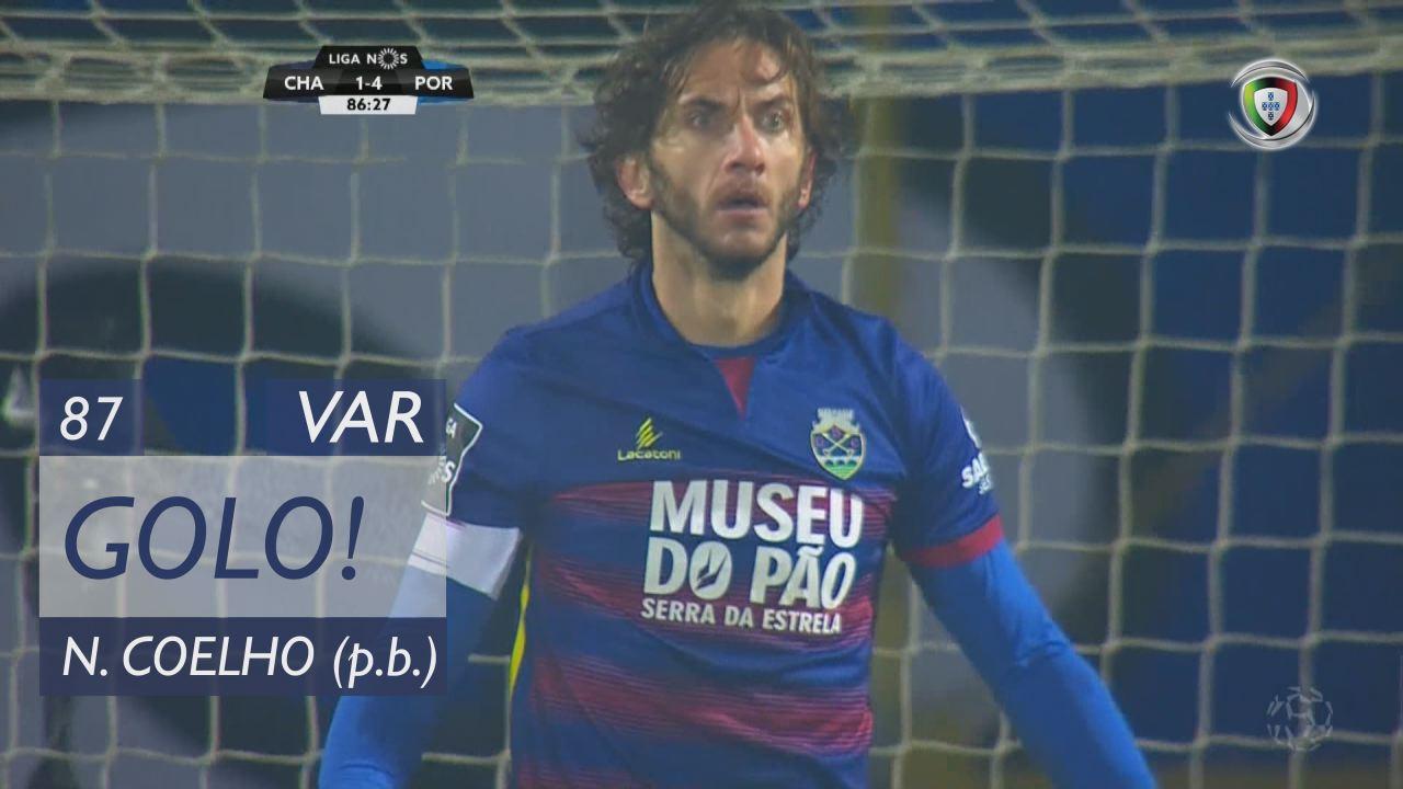 GOLO! FC Porto, Nuno Coelho (p.b.) aos 87', GD Chaves 1-4 FC Porto