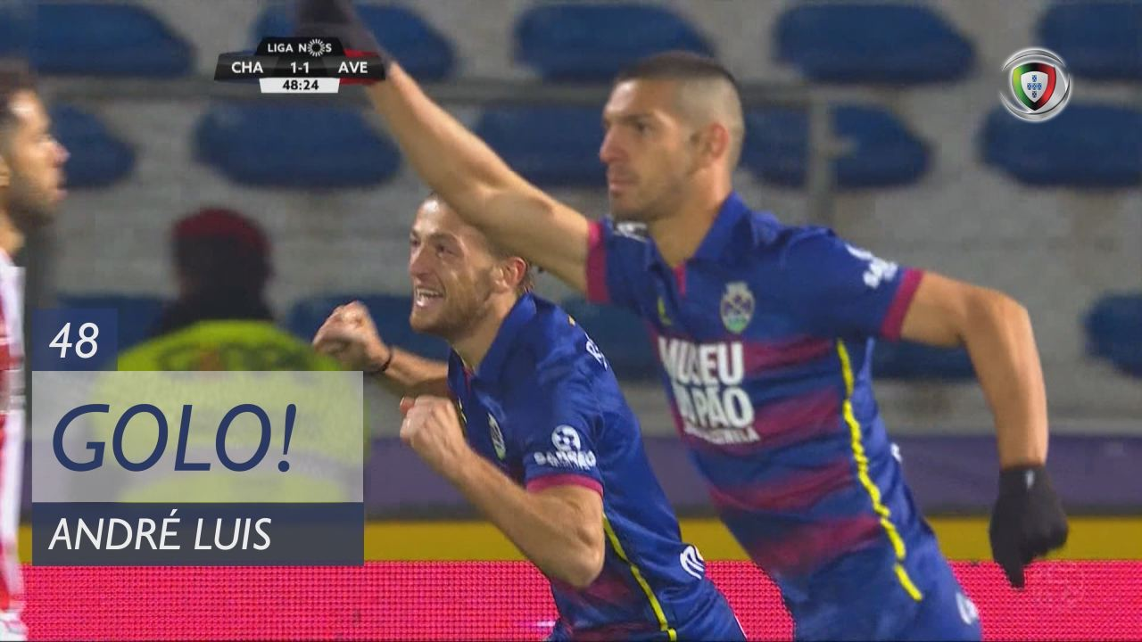 GOLO! GD Chaves, André Luis aos 48', GD Chaves 1-1 CD Aves