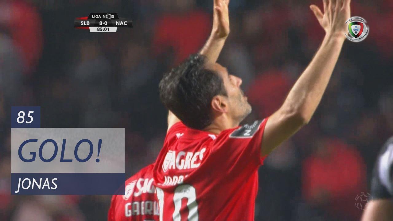GOLO! SL Benfica, Jonas aos 85', SL Benfica 8-0 CD Nacional