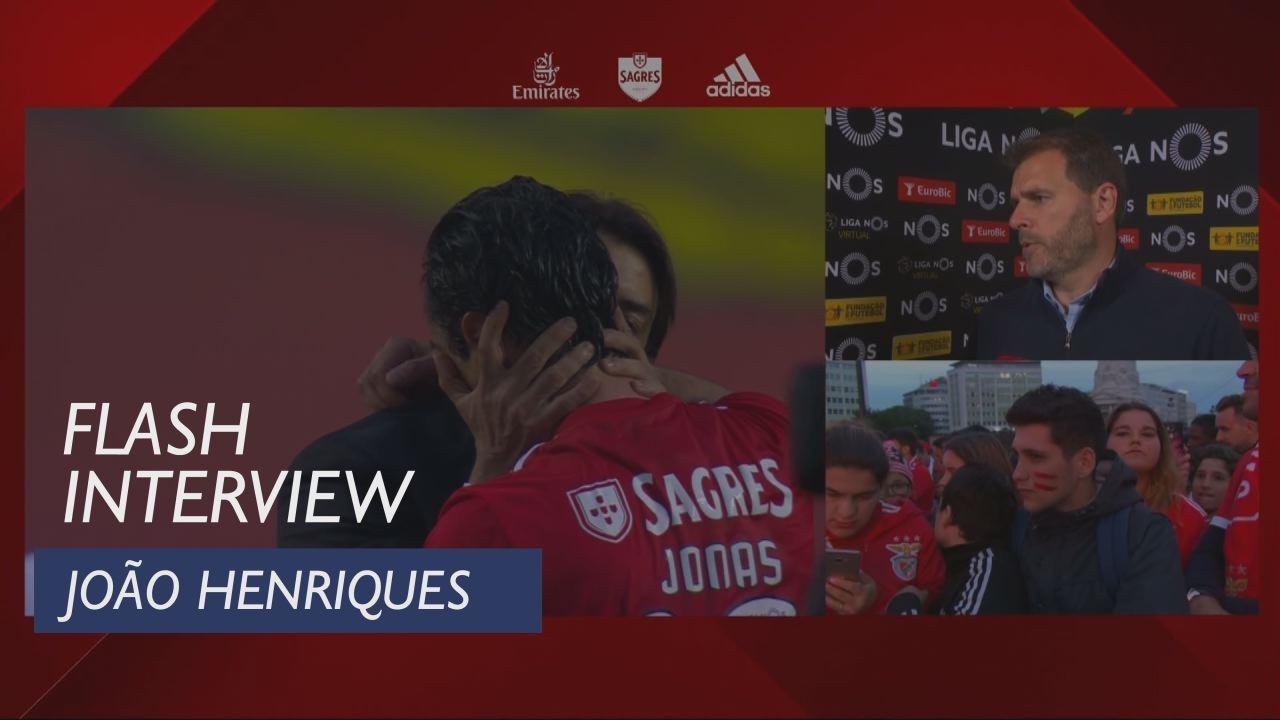 Liga (34ª): Flash Interview João Henriques