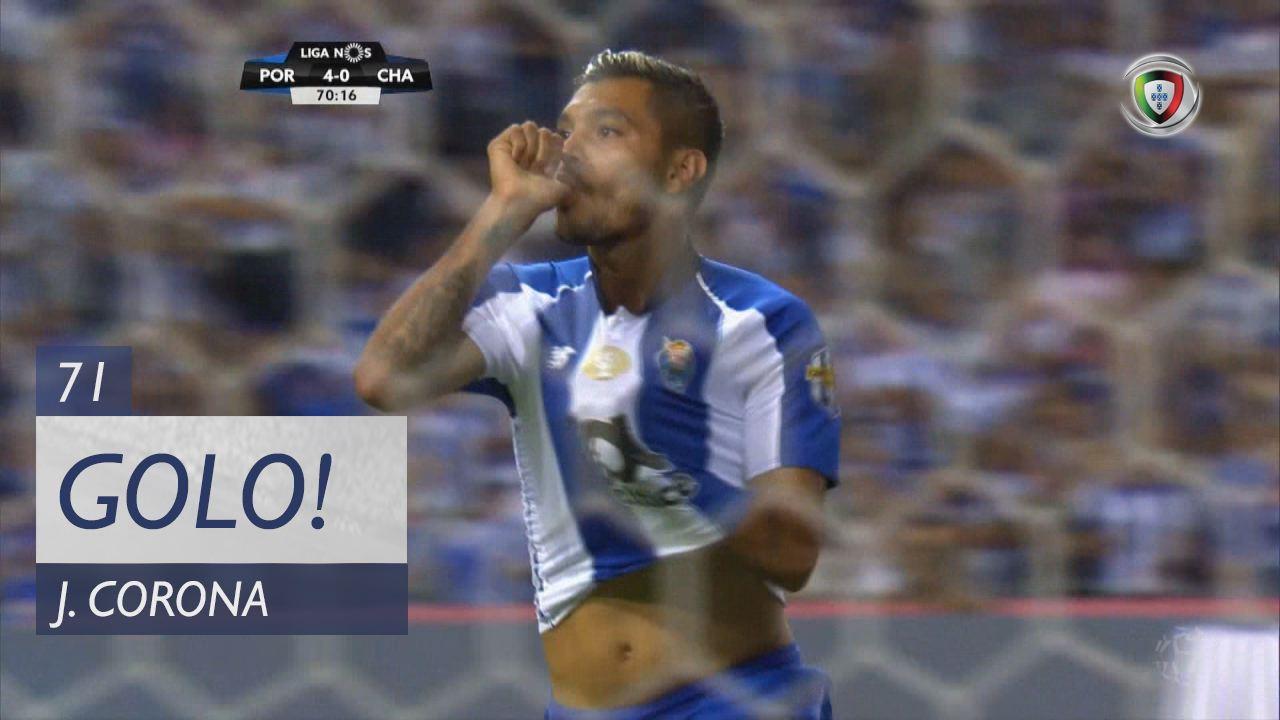 GOLO! FC Porto, J. Corona aos 71', FC Porto 4-0 GD Chaves