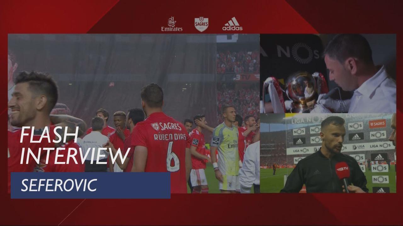 Liga (34ª): Flash Interview Seferovic