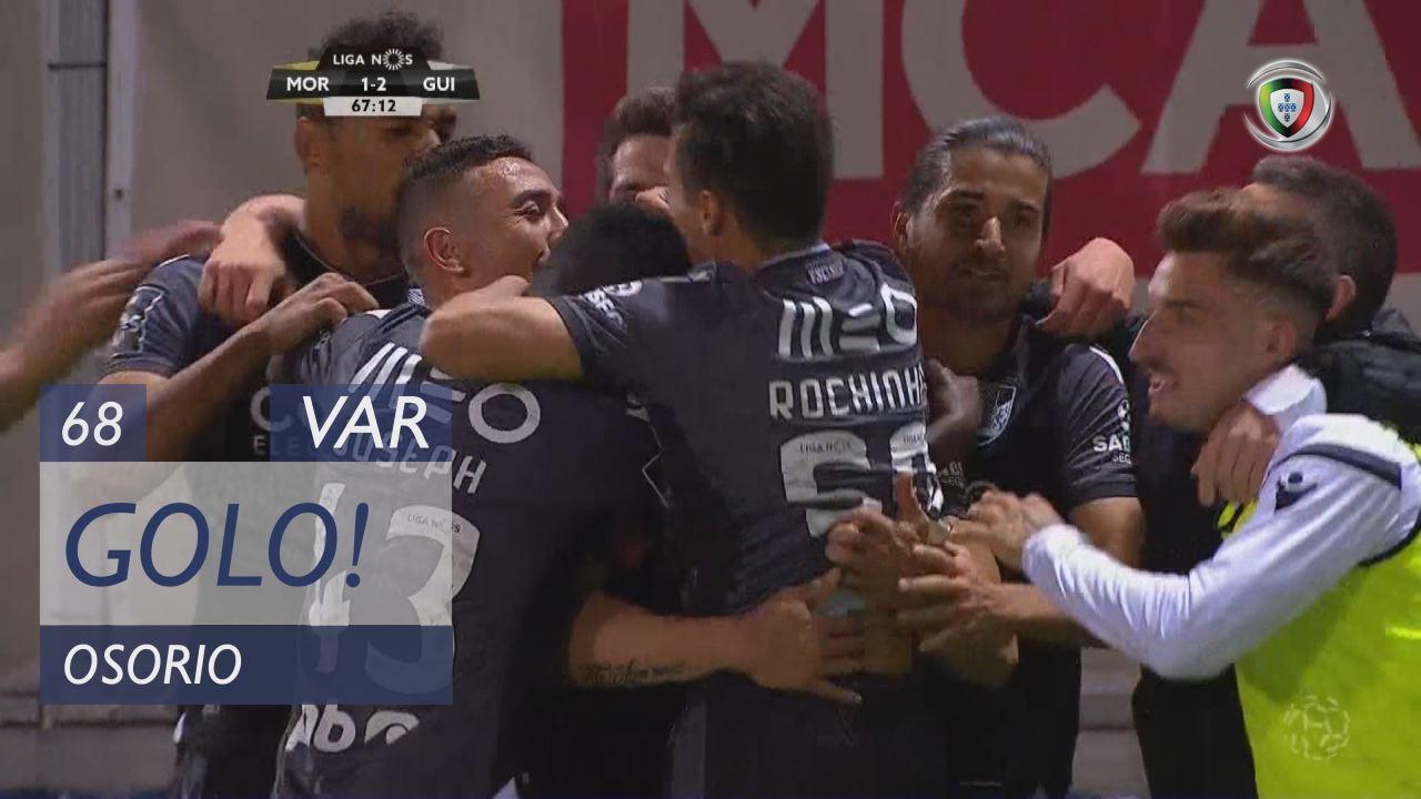 GOLO! Vitória SC, Osorio aos 68', Moreirense FC 1-2 Vitória SC