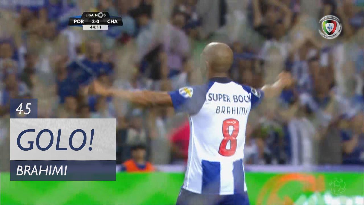 GOLO! FC Porto, Brahimi aos 45', FC Porto 3-0 GD Chaves