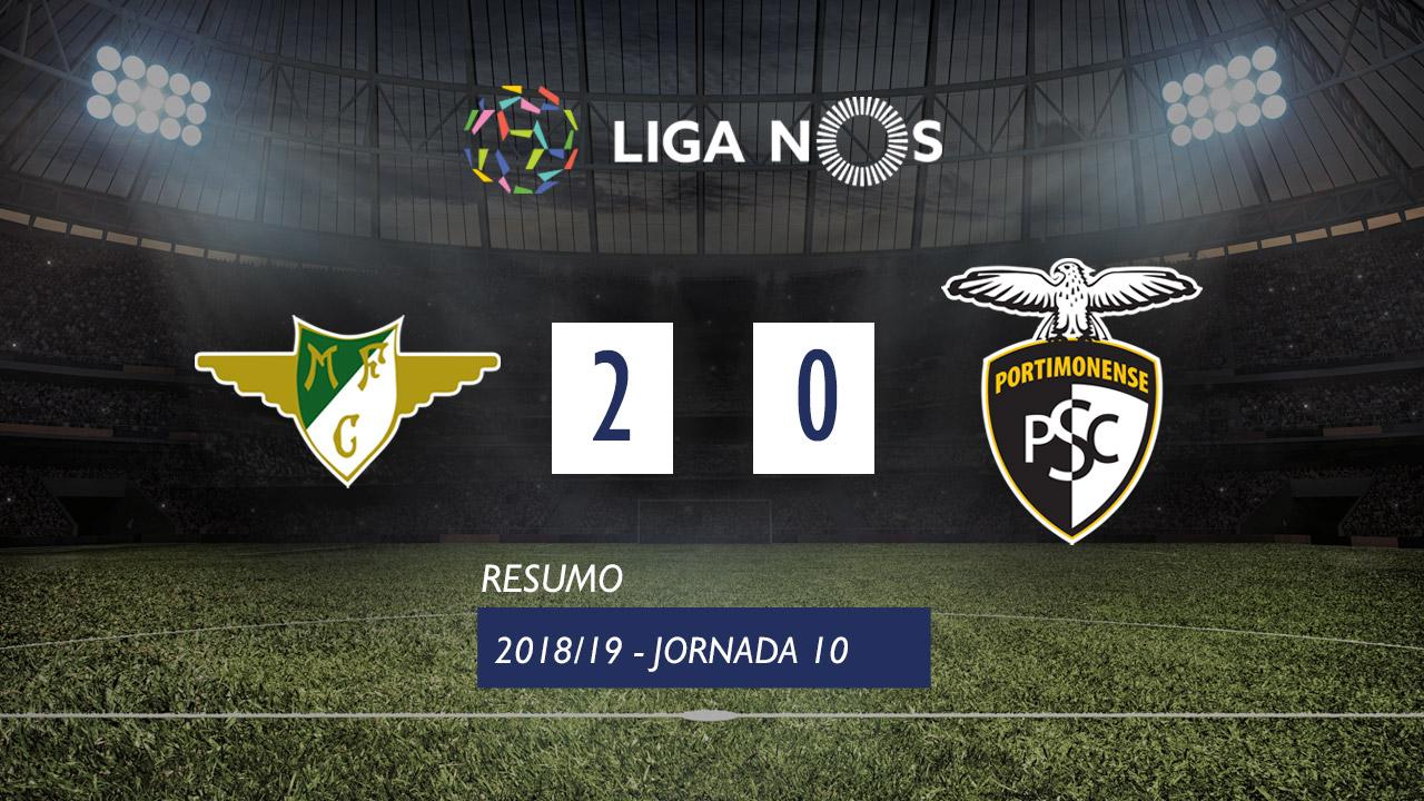 Liga NOS (10ªJ): Resumo Moreirense FC 2-0 Portimonense