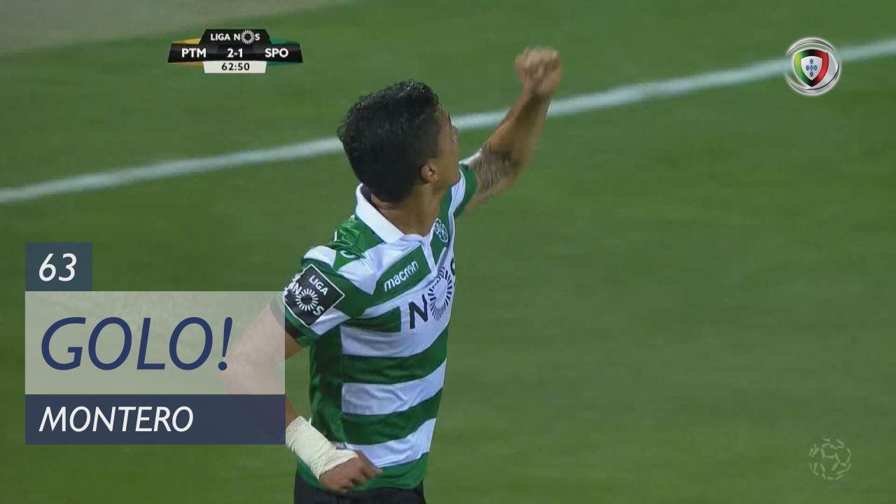 GOLO! Sporting CP, Montero aos 63', Portimonense 2-1 Sporting CP