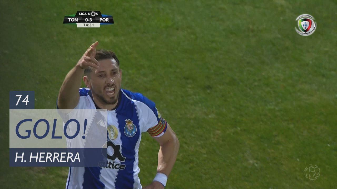 GOLO! FC Porto, H. Herrera aos 74', CD Tondela 0-3...