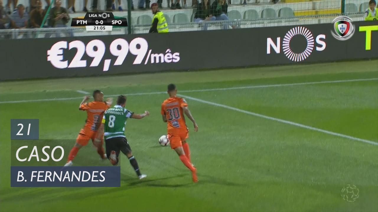 Sporting CP, Caso, Bruno Fernandes aos 21'