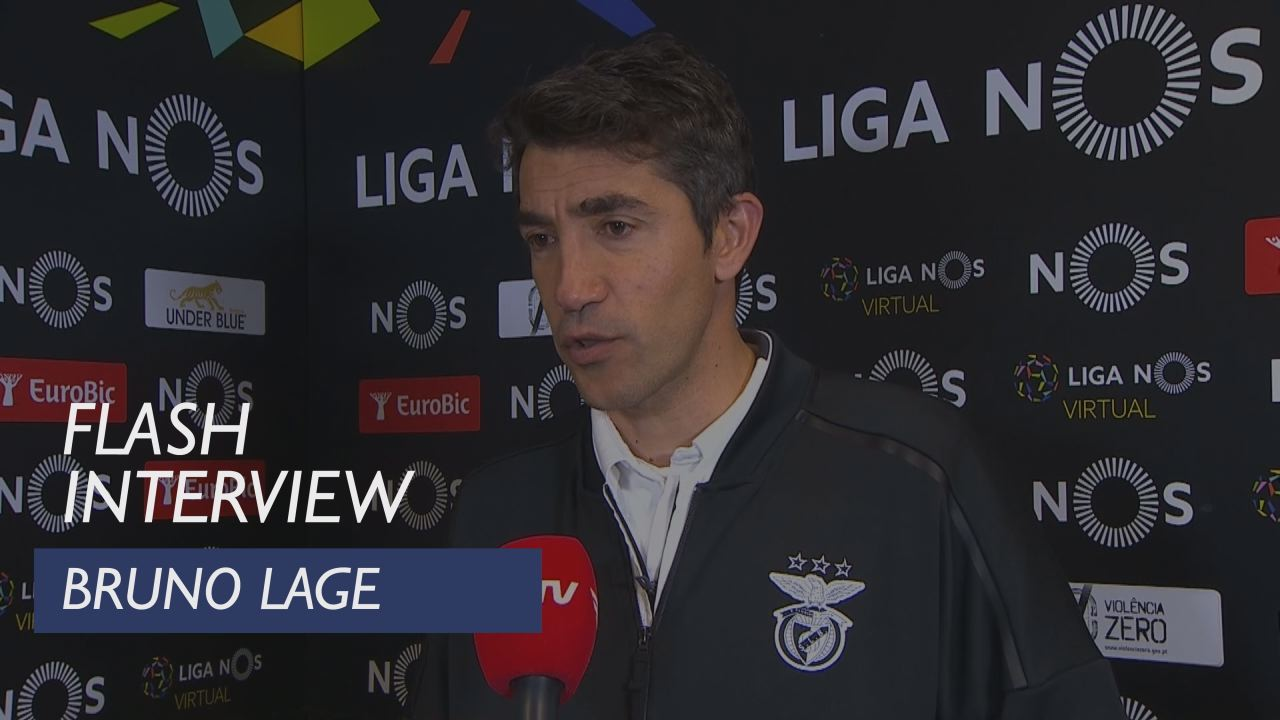 Liga (30ª): Flash Interview Bruno Lage