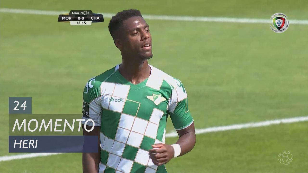 Moreirense FC, Jogada, Heri aos 24'