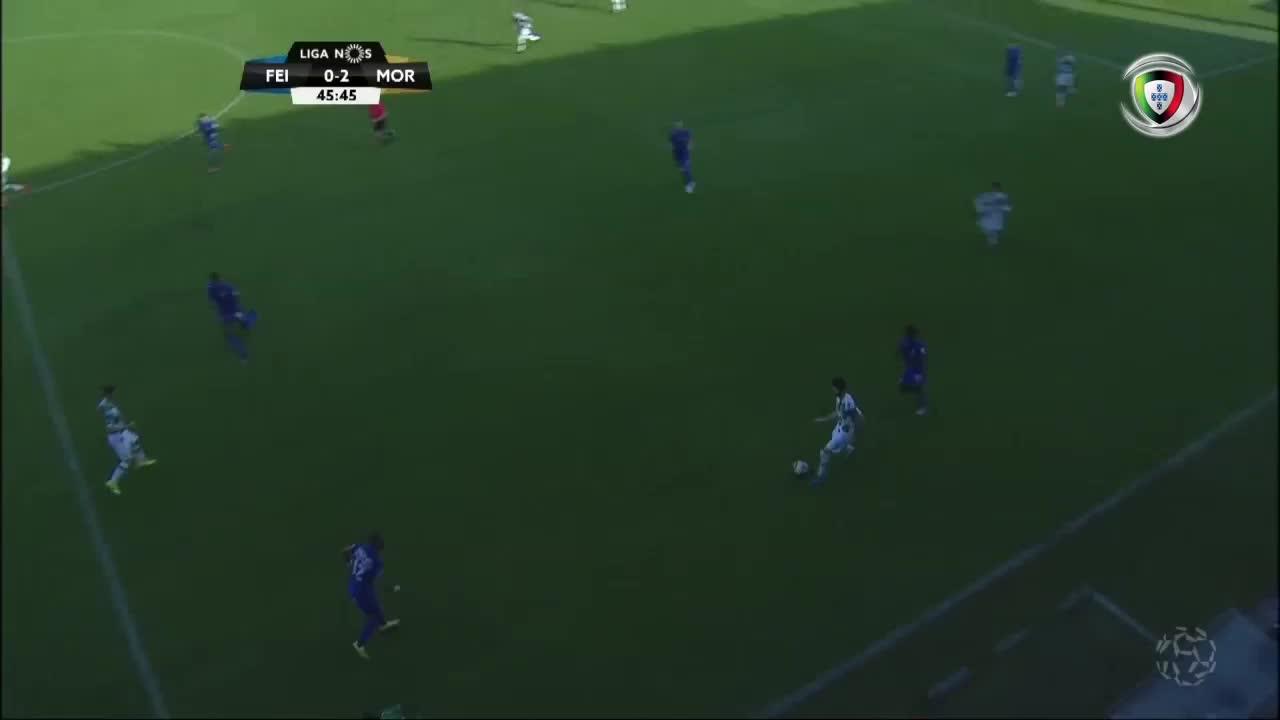 GOLO! Moreirense FC, Chiquinho aos 46', CD Feirens...