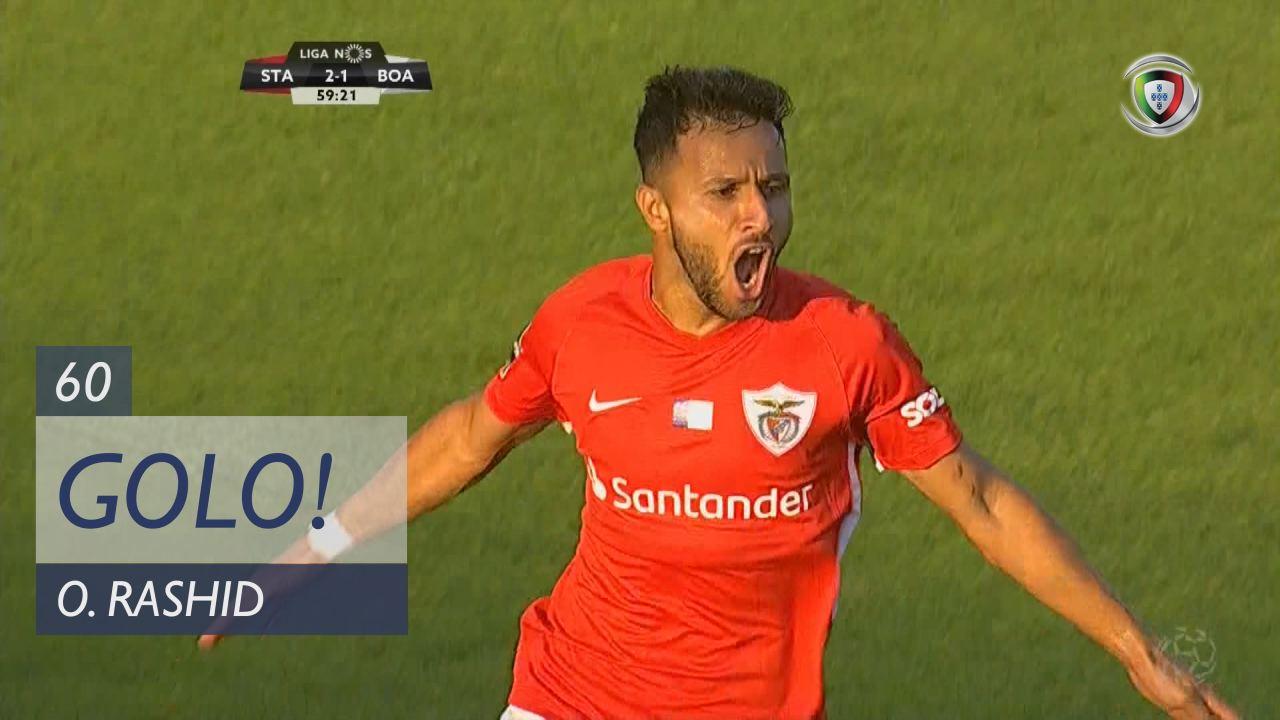 GOLO! Sta. Clara, O. Rashid aos 60', Sta. Clara 3-1 Boavista FC