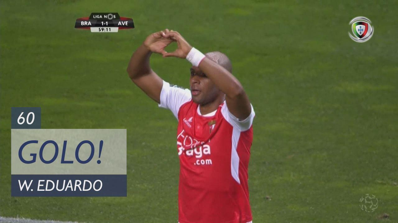 GOLO! SC Braga, Wilson Eduardo aos 60', SC Braga 1...