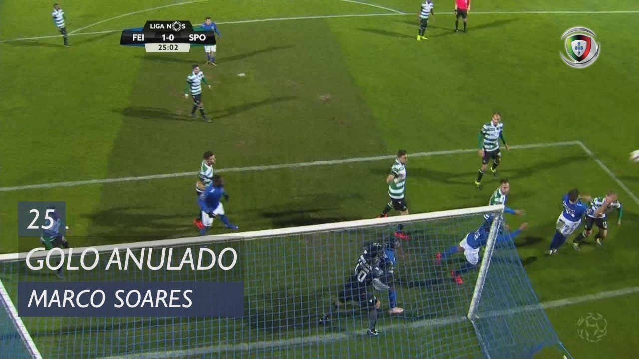 CD Feirense, Golo Anulado, Marco Soares aos 25'
