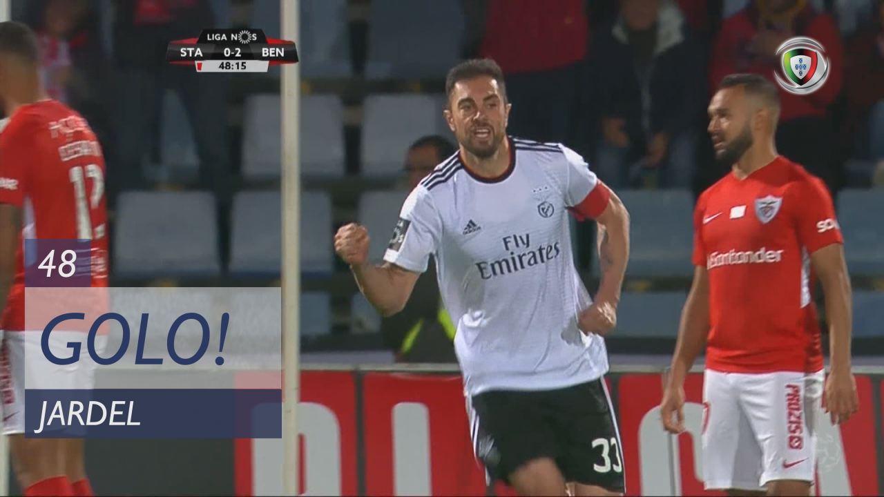 GOLO! SL Benfica, Jardel aos 48', Sta. Clara 0-2 SL Benfica