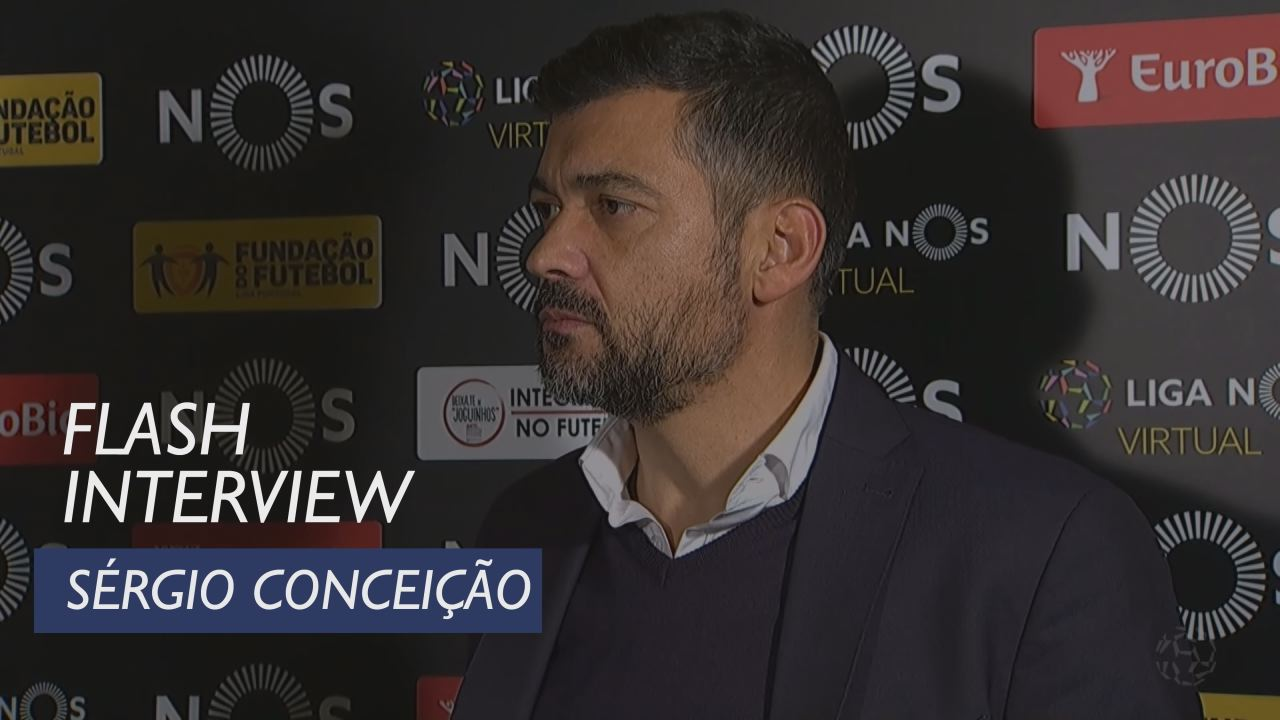 Liga (13ª): Flash interview Sérgio Conceição
