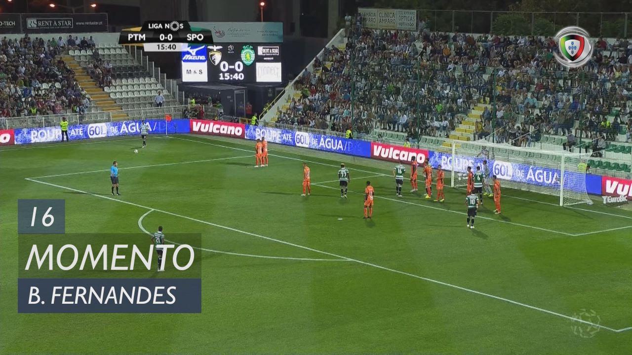 Sporting CP, Jogada, Bruno Fernandes aos 16'