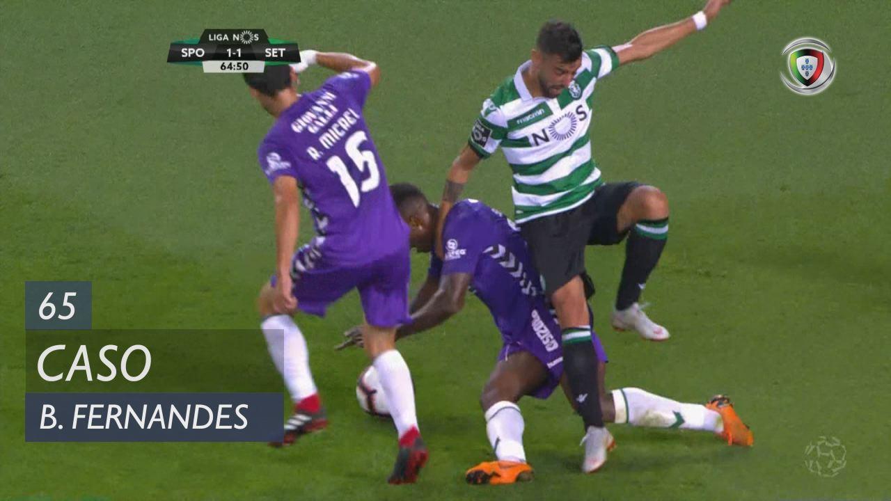 Sporting CP, Caso, Bruno Fernandes aos 65'