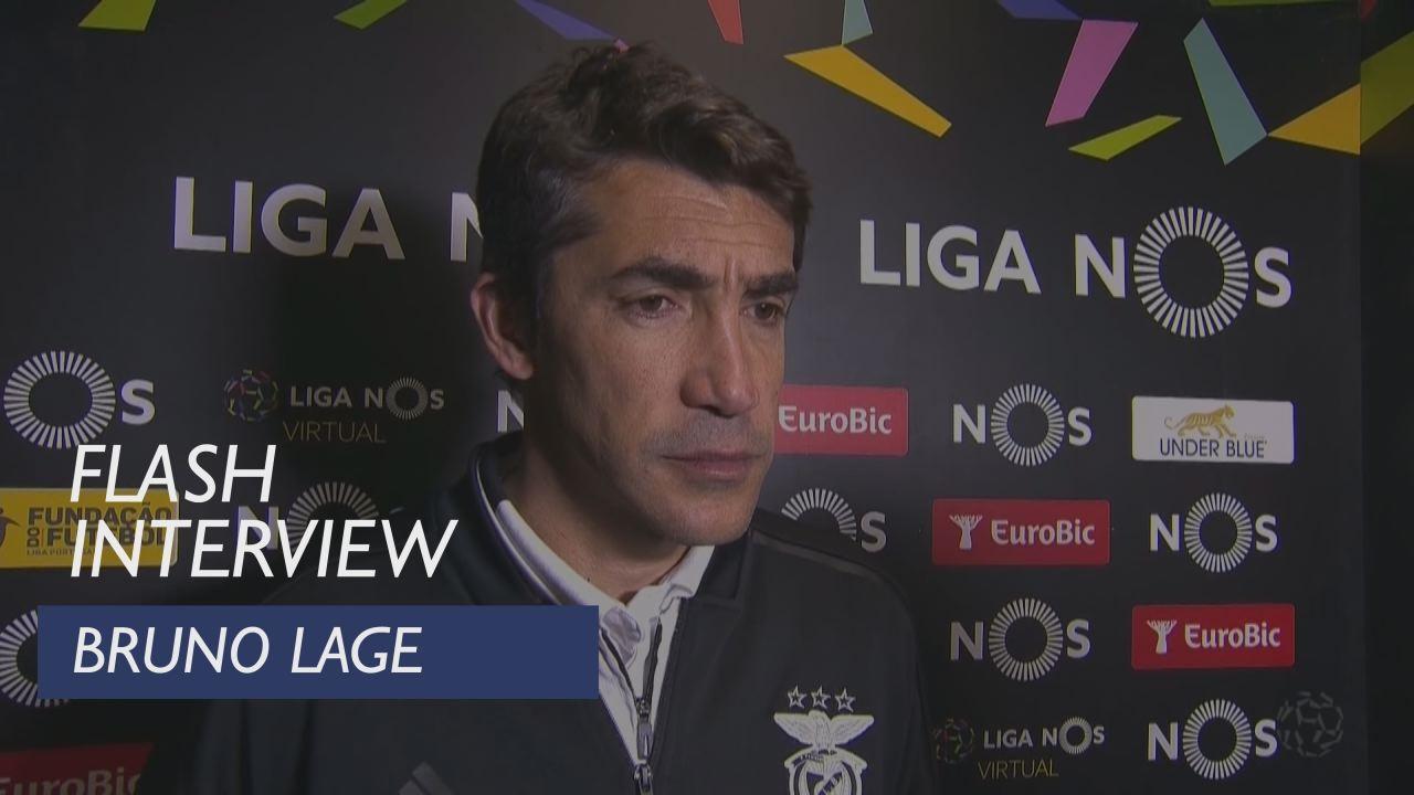 Liga (18ª): Flash interview Bruno Lage