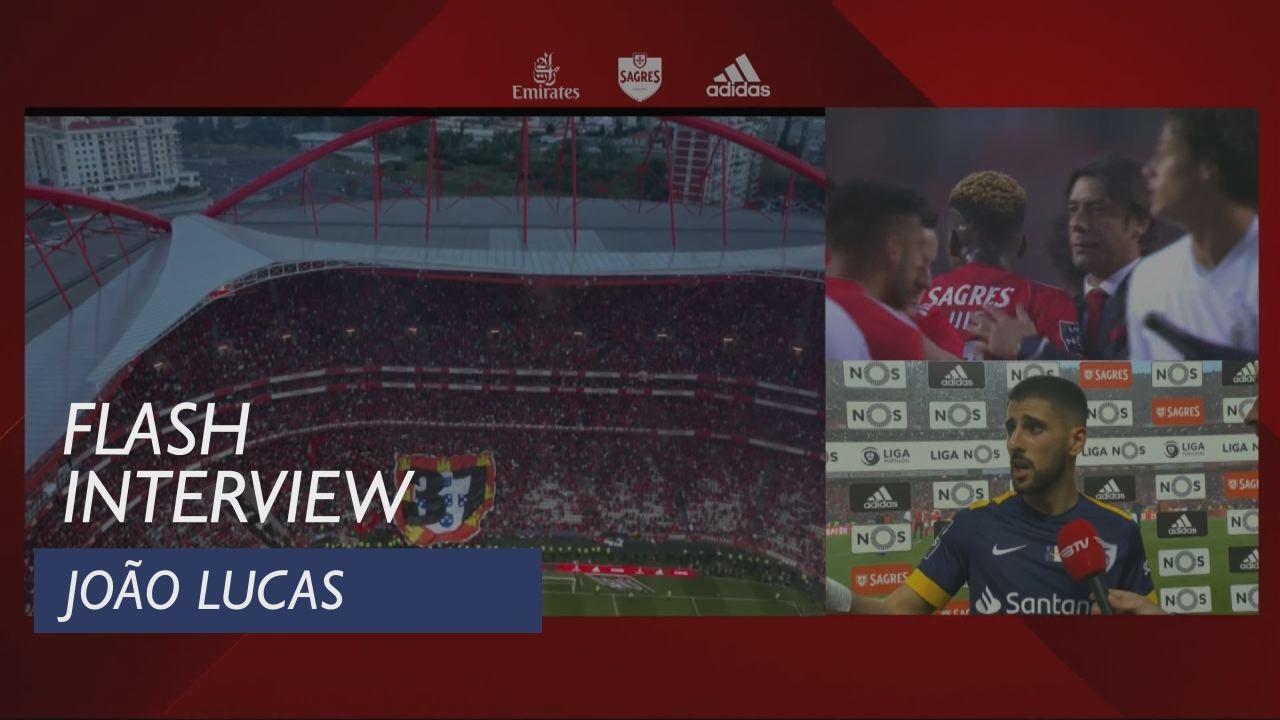 Liga (34ª): Flash Interview João Lucas