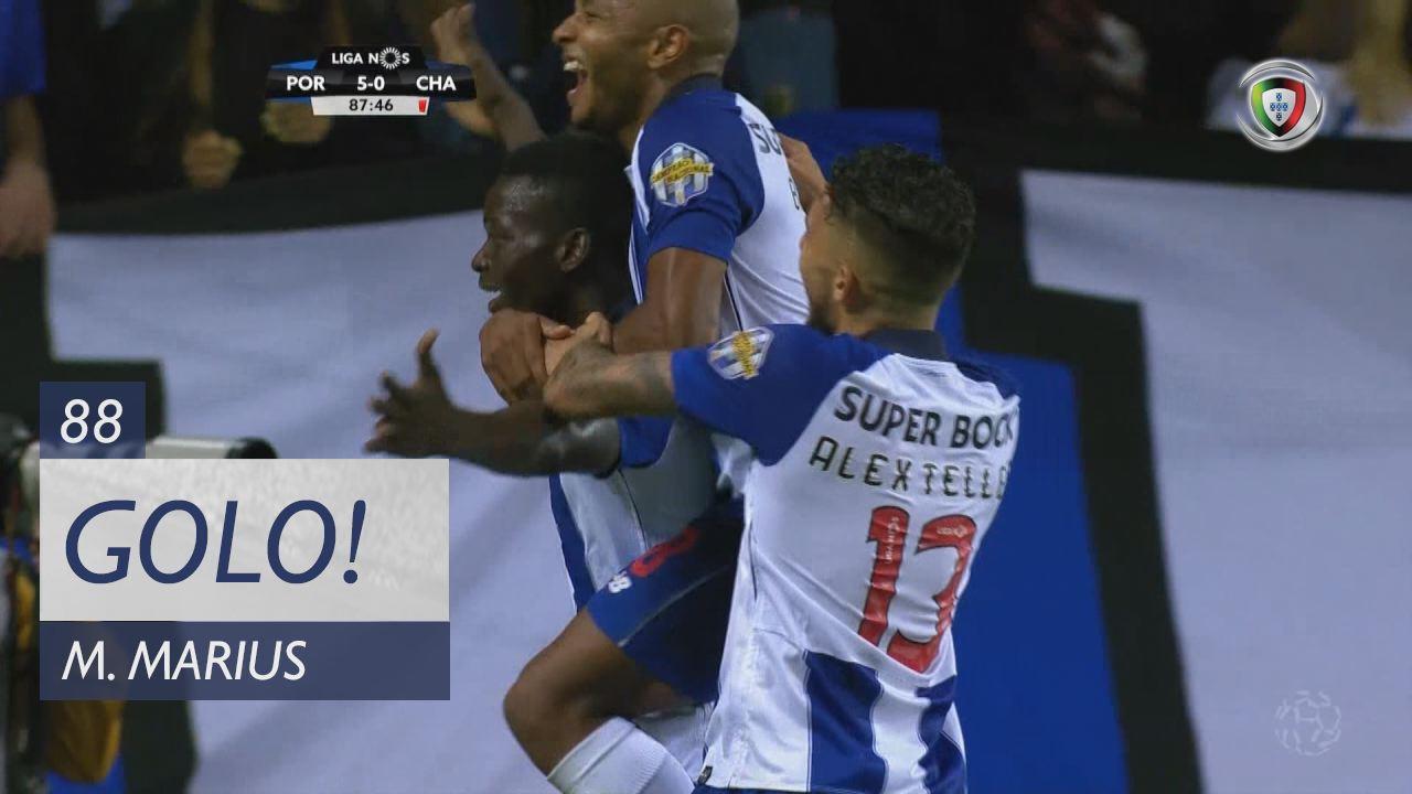 GOLO! FC Porto, M. Marius aos 88', FC Porto 5-0 GD Chaves