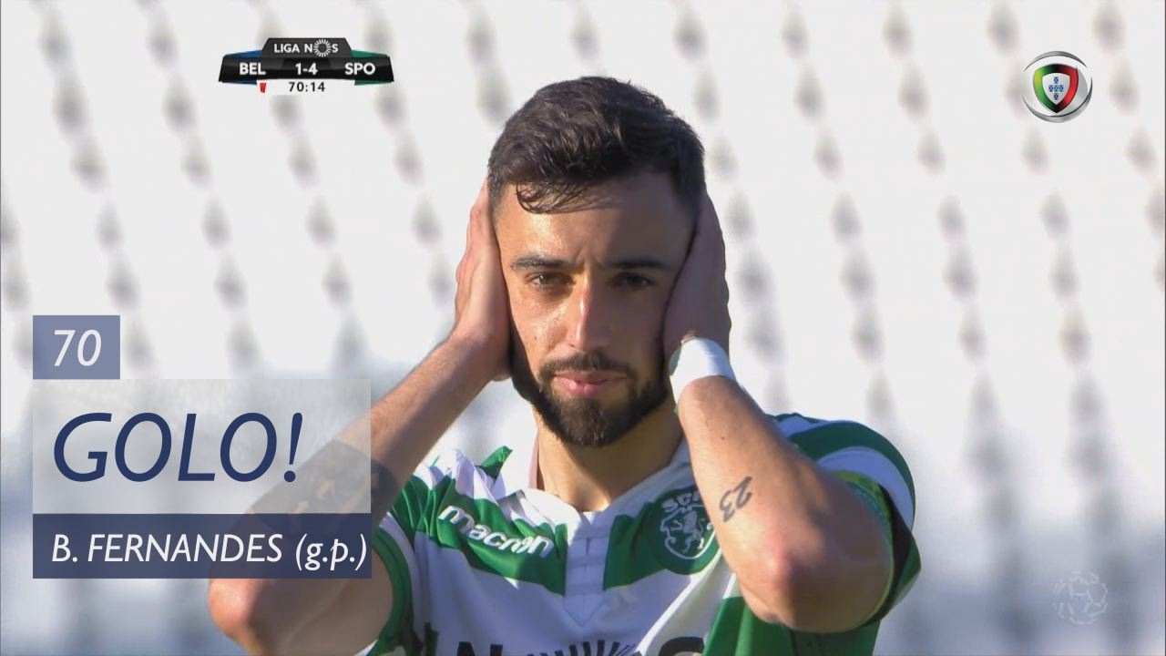 GOLO! Sporting CP, Bruno Fernandes aos 70', Os Bel...
