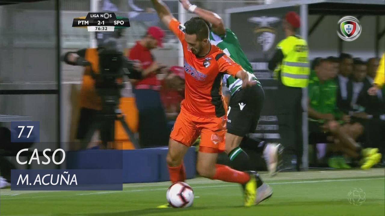 Sporting CP, Caso, M. Acuña aos 77'
